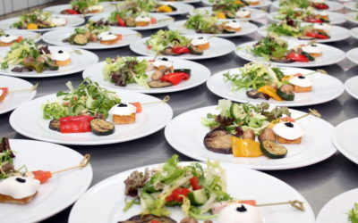 Here's how to decide between catered buffet and plated meals